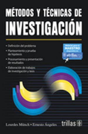 METODOS Y TECNICAS DE INVESTIGACION / 5 ED.