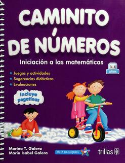CAMINITO DE NUMEROS INICIACION A LAS MATEMATICAS ORIENTADA A COMPETENCIAS. PREESCOLAR / 6 ED.