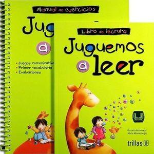 JUGUEMOS A LEER. MANUAL DE EJERCICIOS + LIBRO DE LECTURA. PREESCOLAR