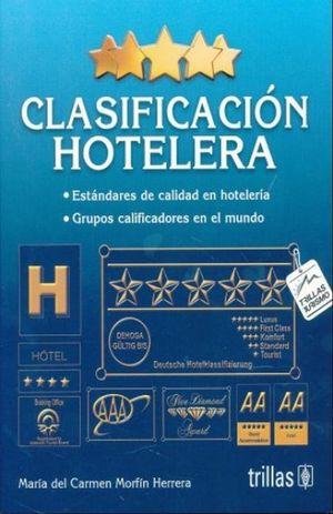 CLASIFICACION HOTELERA