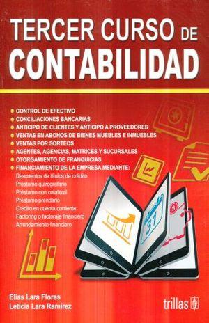 TERCER CURSO DE CONTABILIDAD