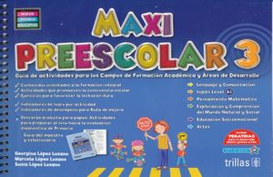 MAXI PREESCOLAR 3 (NUEVO MODELO EDUCATIVO)