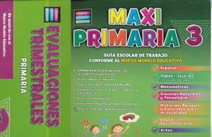 PAQ. MAXI PRIMARIA 3 PRIMARIA