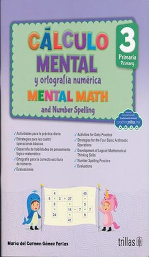 CALCULO MENTAL Y ORTOGRAFIA NUMERICA 3. PRIMARIA / 2 ED.