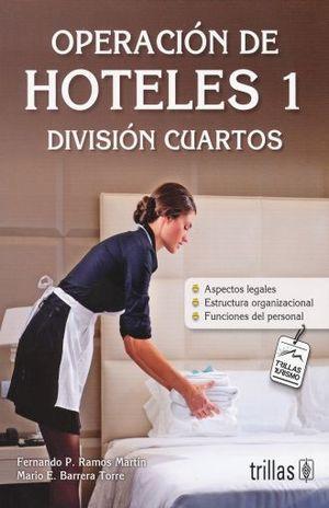 OPERACION DE HOTELES 1. DIVISION CUARTOS