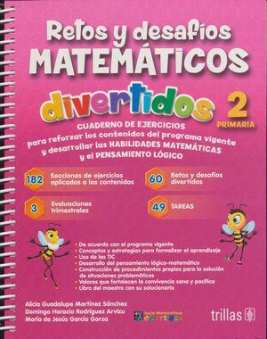 RETOS Y DESAFIOS MATEMATICOS DIVERTIDOS 2. PRIMARIA / 3 ED. (NUEVO MODELO EDUCATIVO)