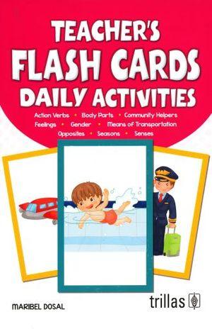 TEACHERS FLASH CARD DAILY ACTIVITIES
