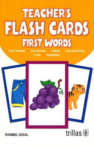 TEACHERS FLASH CARD FIRST WORDS