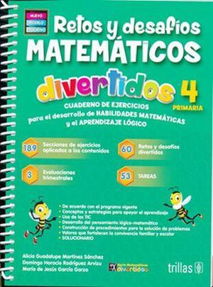 RETOS Y DESAFIOS MATEMATICOS DIVERTIDOS 4. PRIMARIA / 3 ED.