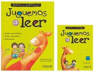 PAQ. JUGUEMOS A LEER / 11 ED. (MANUAL DE EJERCICIOS + LIBRO DE LECTURA)