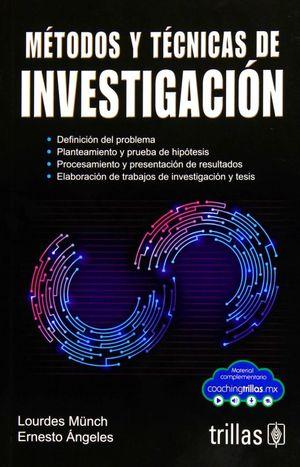 METODOS Y TECNICAS DE INVESTIGACION / 6 ED.