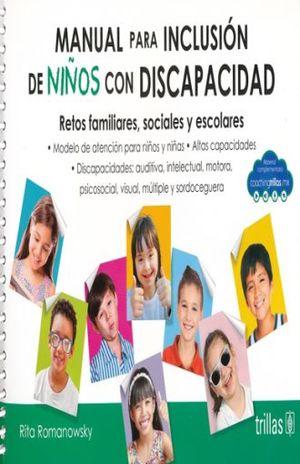MANUAL PARA INCLUSION DE NIÑOS CON DISCAPACIDAD