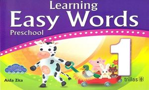 Learning Easy Words 1. Preschool coach / 5 ed.