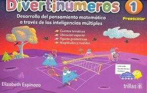 Divertinúmeros 1. Preescolar