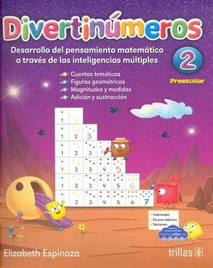 Divertinúmeros 2. Preescolar