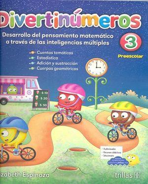 Divertinúmeros 3. Preescolar