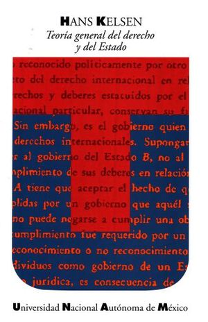 TEORIA GENERAL DEL DERECHO Y DEL ESTADO / 3 ED.
