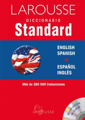 LAROUSSE  DICCIONARIO STANDARD ESPAÑOL  INGLES / ENGLISH SPANISH PD.