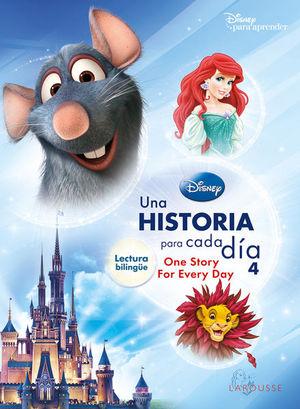 Una historia para cada día 4. Lectura bilingüe Disney