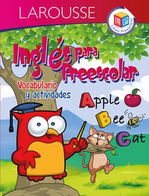 Inglés para preescolar. Vocabulario y actividades.