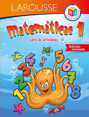 MATEMATICAS 1 LIBRO DE ACTIVIDADES. PREESCOLAR