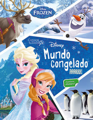 Mundo congelado ¡Bbbrrr! / pd. (Incluye stickers)