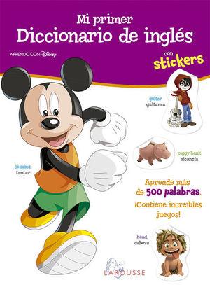 Mi primer diccionario de Inglés