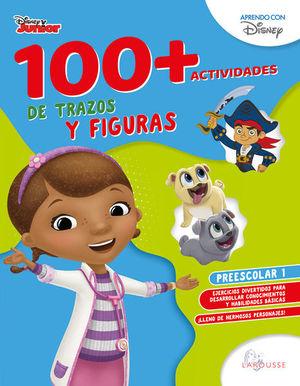 100 + Actividades de trazos y figuras. Preescolar 1