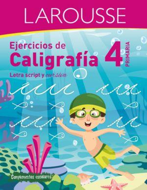 EJERCICIOS DE CALIGRAFIA. LETRA SCRIPT Y CURSIVA. PRIMARIA 4