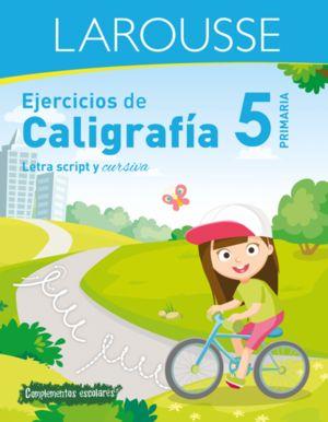 EJERCICIOS DE CALIGRAFIA. LETRA SCRIPT Y CURSIVA. PRIMARIA 5