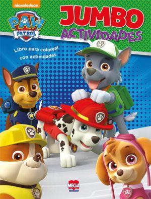 Paw Patrol Jumbo. Libro de actividades