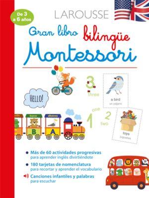 Gran libro bilingüe Montessori