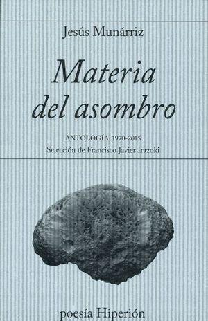 MATERIA DEL ASOMBRO