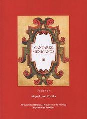 Cantares mexicanos / Volumen III