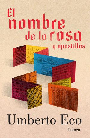 NOMBRE DE LA ROSA Y APOSTILLAS, EL / PD.