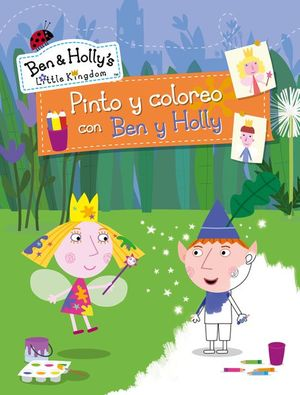 Pinto y coloreo con Ben y Holly