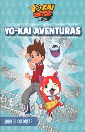 Yo-kai aventuras. Libro para colorear