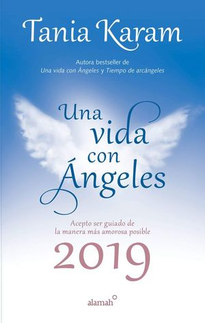 Libro agenda. Una vida con ángeles 2019
