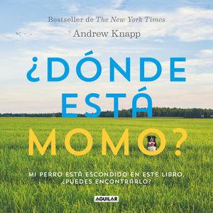 ¿Dónde está Momo? Mi perro está escondido en este libro, ¿puedes encontrarlo?