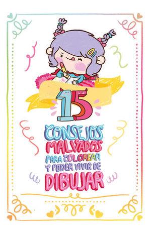 15 consejos malvados para colorear y poder vivir de dibujar