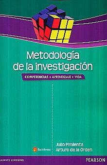 METODOLOGIA DE LA INVESTIGACION. COMPETENCIAS + APRENDIZAJE + VIDA BACHILLERATO