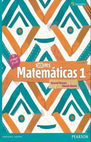 MATEMATICAS 1. SECUNDARIA SABERES