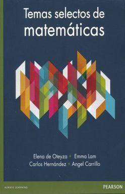 TEMAS SELECTOS DE MATEMATICAS. BACHILLERATO