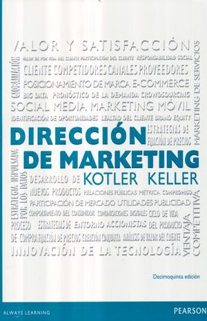 DIRECCION DE MARKETING / 15 ED.
