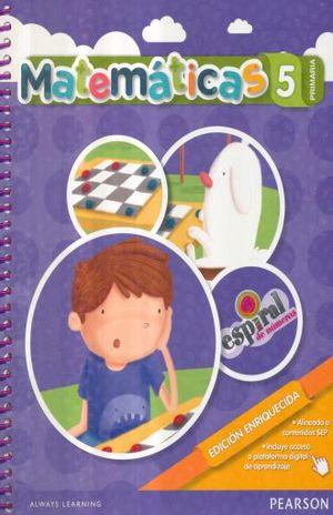 MATEMATICAS 5 ESPIRAL DE NUMEROS PRIMARIA / 2 ED.