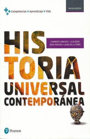 HISTORIA UNIVERSAL CONTEMPORANEA. BACHILLERATO / 3 ED.