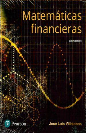 MATEMATICAS FINANCIERAS / 5 ED.
