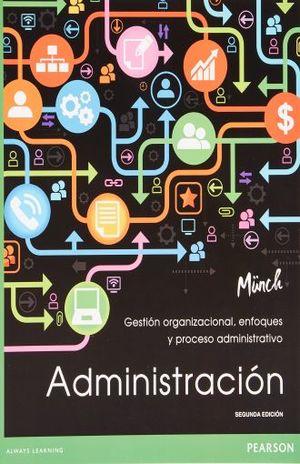 ADMINISTRACION. GESTION ORGANIZACIONAL ENFOQUES Y PROCESOS / 3 ED.
