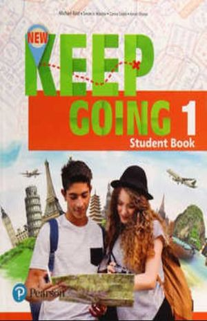 NEW KEEP GOING STUDENT BOOK WITH WORKBOOK LEVEL 1