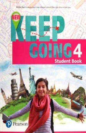 NEW KEEP GOING STUDENT BOOK WITH WORKBOOK LEVEL 4